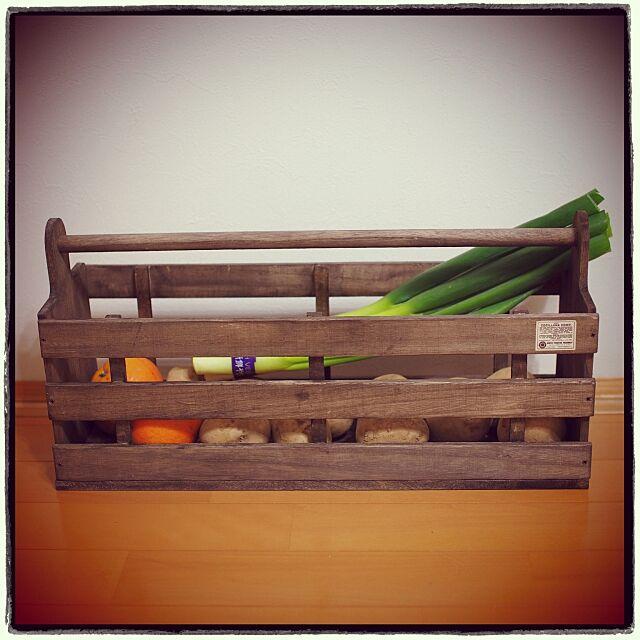 Kitchen,YMD.designさん,ベジタブルボックス,RC愛媛支部,ダイソー,セリア,カッティングボード,木工作品 Vintageの部屋