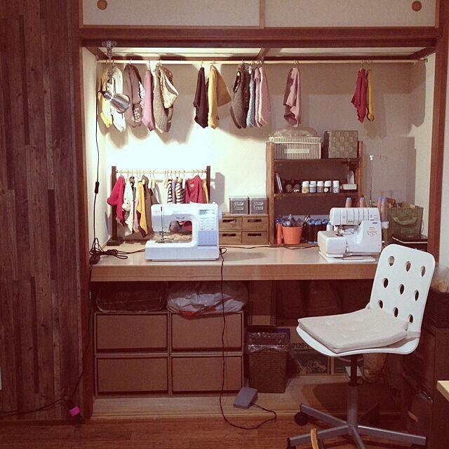 My Desk,リメイク,DIY,押し入れ改造 aiの部屋