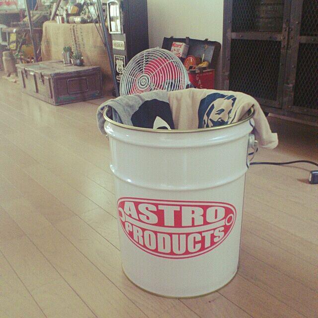 Bathroom,ASTRO PRODUCTS,jarnal standard,JUNK,ミリタリー,洗濯物カゴ,ジャーナルスタンダードファニチャー Mr.Romanの部屋