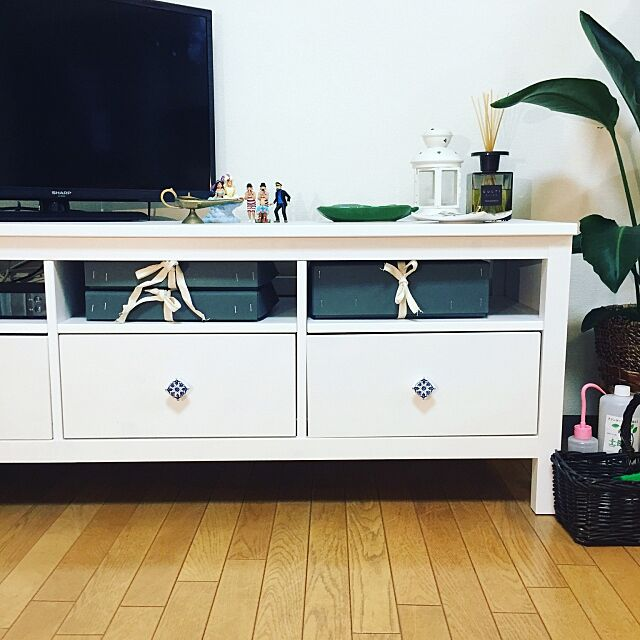 Lounge,テレビ台,IKEA,無印良品,FOUND MUJI,コシャー箱 makigonの部屋