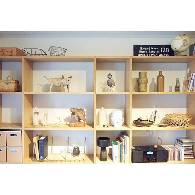 My Shelf,無印良品 ,スタッキングシェルフ,RC広島支部,民芸品 taka55の部屋