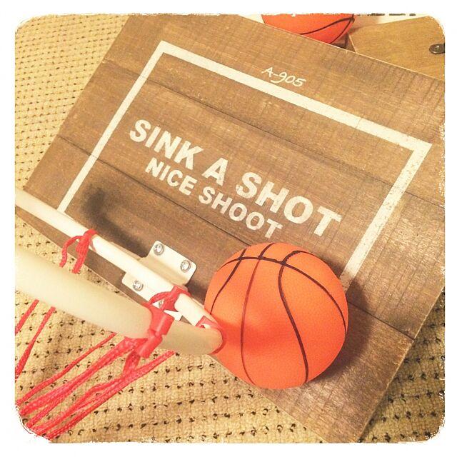 Overview,バスケ部,バスケットボール,バスケットゴール,リメイク,DIY,ステンシル,ステイン塗装,先日の続き,バスケットゴール木製ボード seven.の部屋