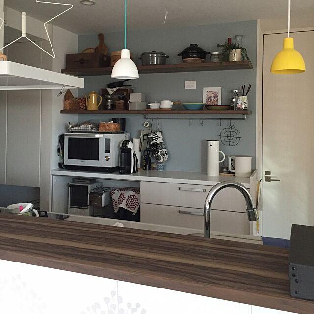 Kitchen,キッチン記録,トルボー,ルイスポールセン,IKEA,北欧,コーヒーメーカー,愛用品,ドリップケトル,アクセントクロス kotikkoの部屋