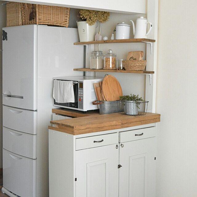 Kitchen,初投稿,DIY,キッチンカウンター,賃貸キッチン noritake-sanの部屋