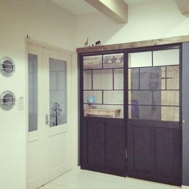 Overview,船舶窓,障子リメイク,和室を改造,襖リメイク oshioの部屋