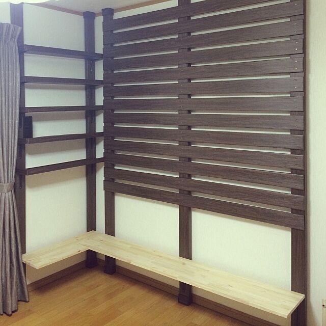 My Shelf,テーブル,ディアウォール,カッティングシート,2×4材,DIY MIHOの部屋