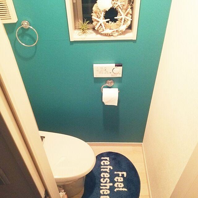 Bathroom,西海岸,西海岸インテリア,カリフォルニアスタイル,sea,WTW,リース,フランフラン,francefrance,ナチュラル,カインズ,NO GREEN NO LIFE,エアプランツ,ステッカー壁紙,IKEA,いつもありがとうございます♡,フォロワーさま4500人?! loveの部屋