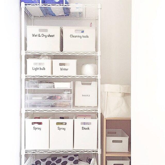 整理収納部,整理収納アドバイザー,階段下収納,シンプルインテリア,ホワイト,ニトリ,収納ボックス,収納,シンプル,マイホーム,赤ちゃんのいる暮らし,My Shelf yu-rinの部屋