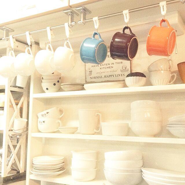 Kitchen,食器,100均,DIY,雑貨,セリア,いつもいいね!ありがとうございます♪,ダイソー,ナチュラルキッチン,キャンドゥ kohakuruの部屋
