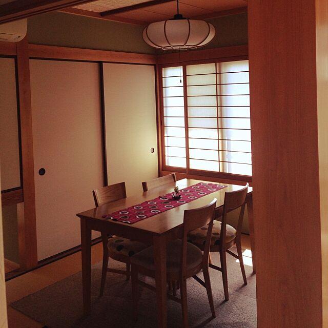 障子,和ダイニング,日本家屋,Overview,和風,和風カフェ,和室 chokumiの部屋