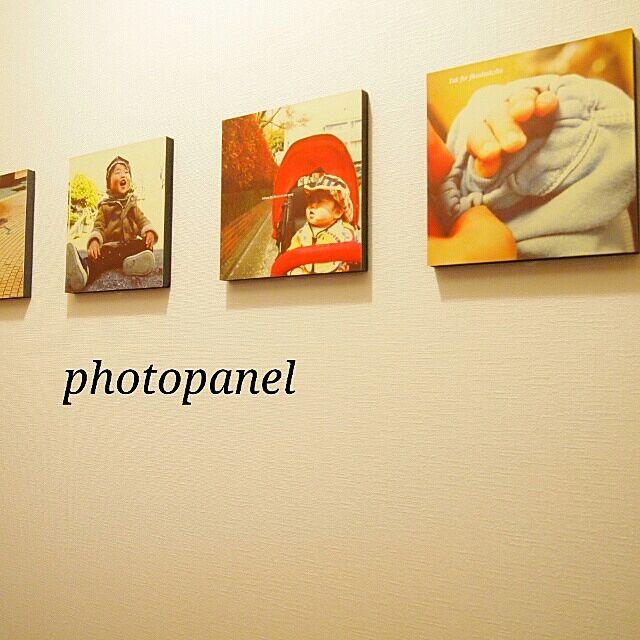 On Walls,フォトパネル,トイレ,同じものを並べたい,写真 meeの部屋