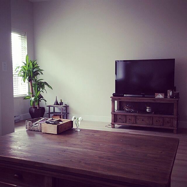Overview,コーヒーテーブル,リビング,観葉植物 リビング emineの部屋