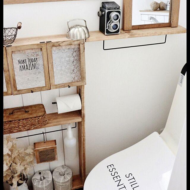DIY棚,トイレ takimoto-manamiの部屋