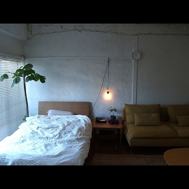 Bedroom,ベッド,照明 towaの部屋