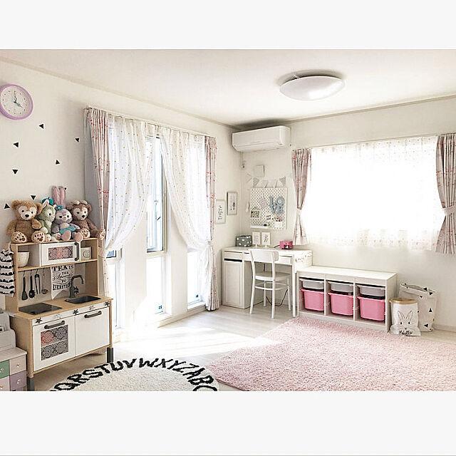 Bedroom,女の子部屋,子供部屋,イケア75,建売住宅,IKEA hii--の部屋