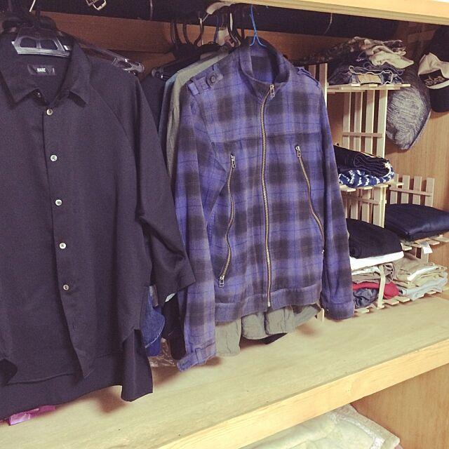 My Shelf,押入れ,クローゼット,押入れ収納,ダイソー Takahiroの部屋