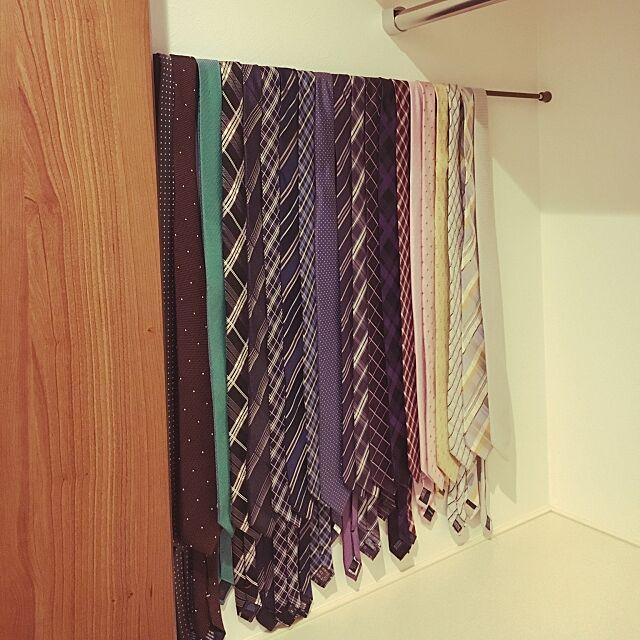My Shelf,収納,100均,突っ張り棒,クローゼットの中,クローゼット amiruの部屋