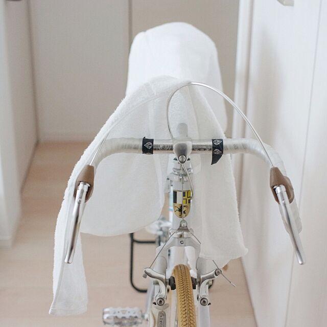 タオル掛け,タオル,タオルハンガー,自転車 Katsuraの部屋