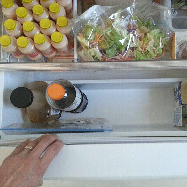 Kitchen,大掃除,掃除部,コンテストを盛り上げ隊!!,皆様の お掃除スイッチを押すd( ̄‐☆),冷蔵庫の中,つっぱり棒が好き♥,つっぱり棒も好きだけど牛乳パックも好き♥ naoの部屋