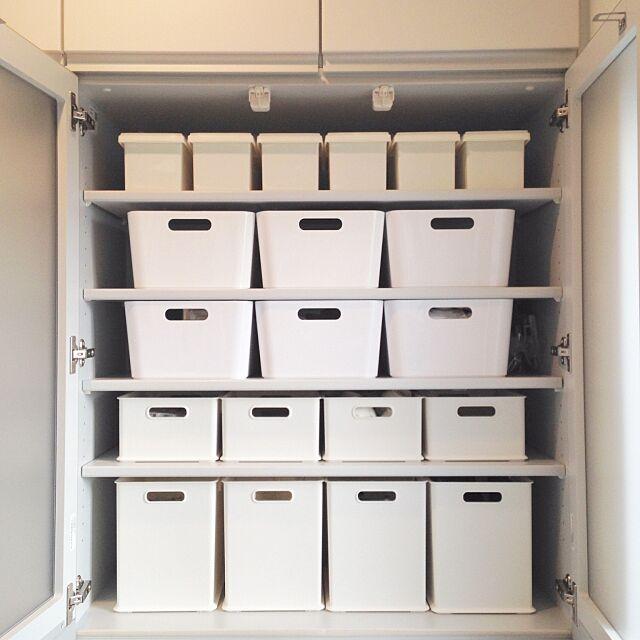 Kitchen,食器棚,収納,収納ボックス,ダイソー,イケア,ニトリ,IKEA yumiの部屋