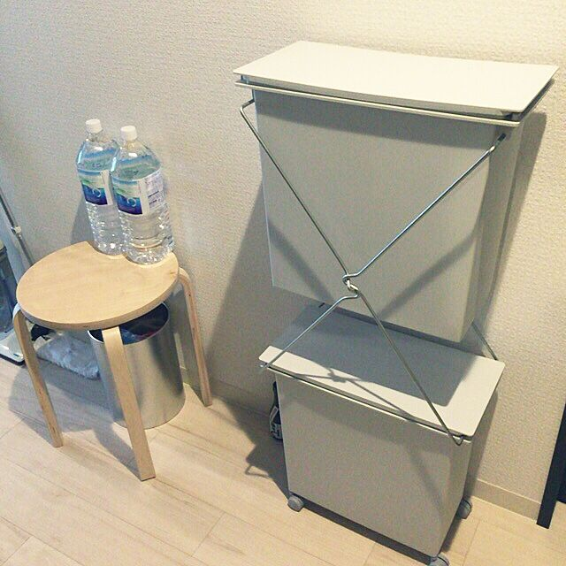 Kitchen,ゴミ箱,一人暮らし,無印良品,IKEA corinnexxsunの部屋