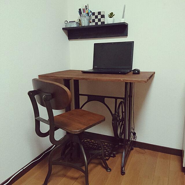 My Desk,デスク,インダストリアル,チェア,ビンテージ mrtmy2017の部屋
