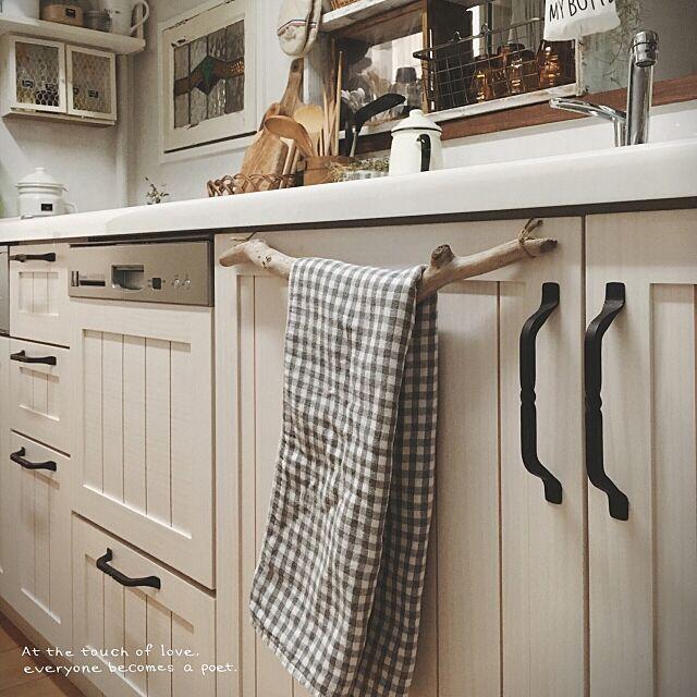 Kitchen,流木,流木タオルハンガー,今治タオル,タオルハンガー tomoの部屋