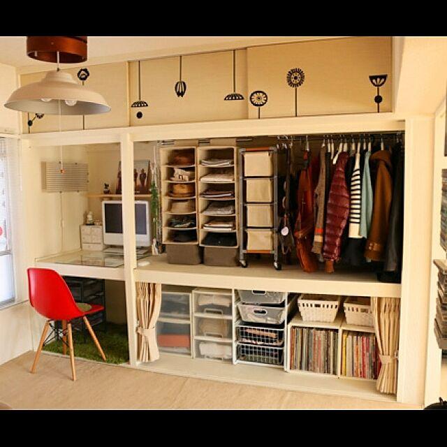 My Shelf,団地再生,セルフリノベーション,無印良品,押入れ改造,団地部,IKEA,セルフリノベ,みせる収納 Makeesの部屋