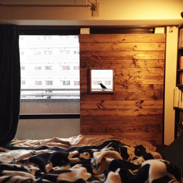 ベランダ窓枠DIY,ディアウォール,DIY,一人暮らし,壁/天井,My Shelf ryu_nosの部屋
