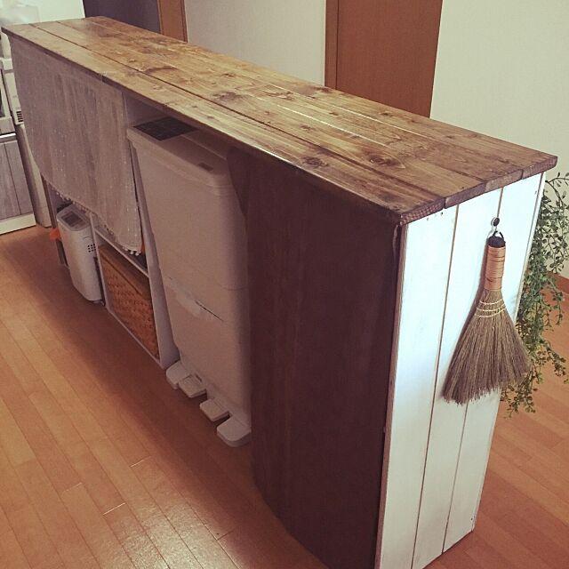 Kitchen,楽天で買ったもの,キッチンカウンターDIY,カラーボックス,セリア Jiaiの部屋