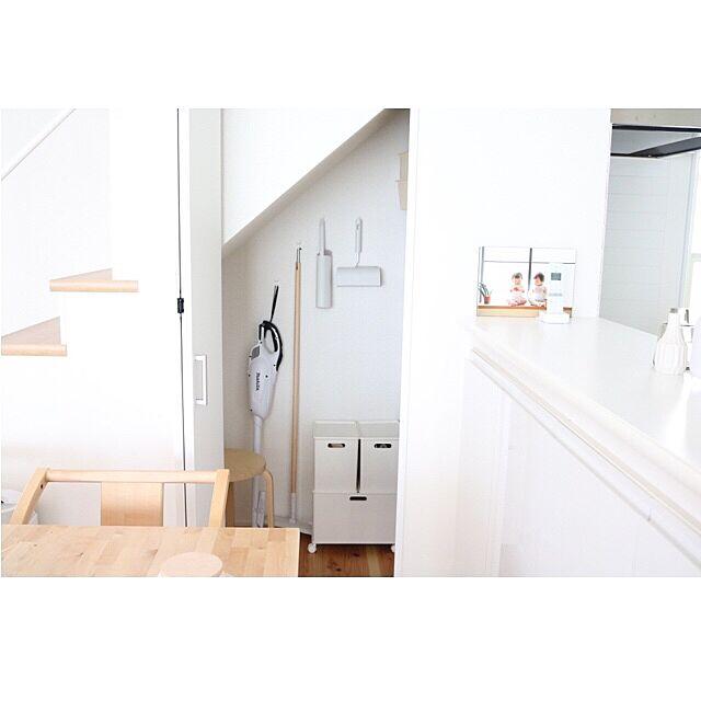 階段下収納,整理整頓,シンプルインテリア,ダイソー,ニトリ,IKEA,My Shelf amaotoの部屋
