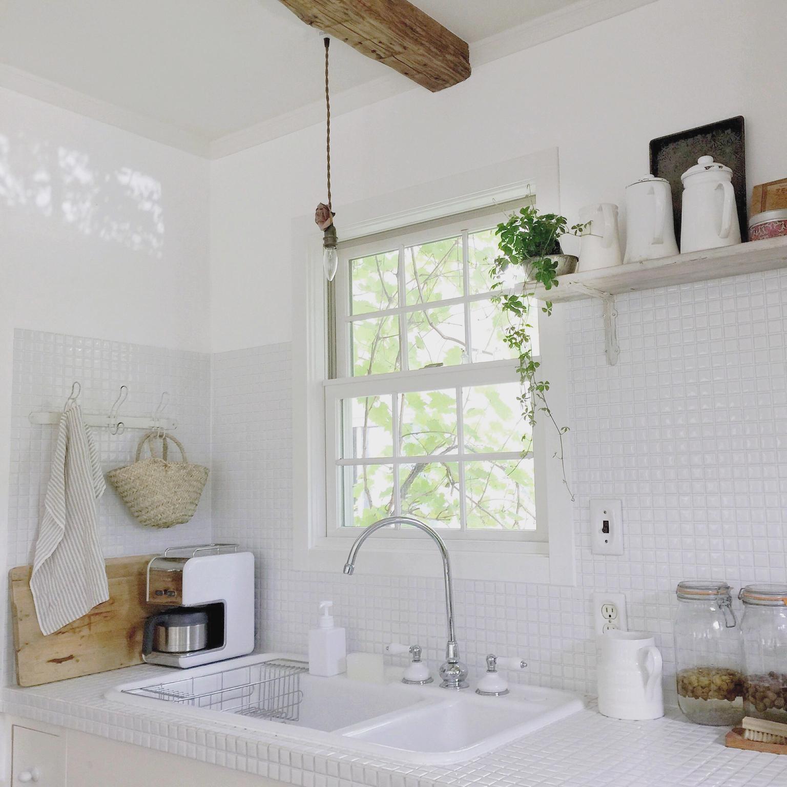 お家の中で日光浴♡光が心地よい窓と窓辺のある風景