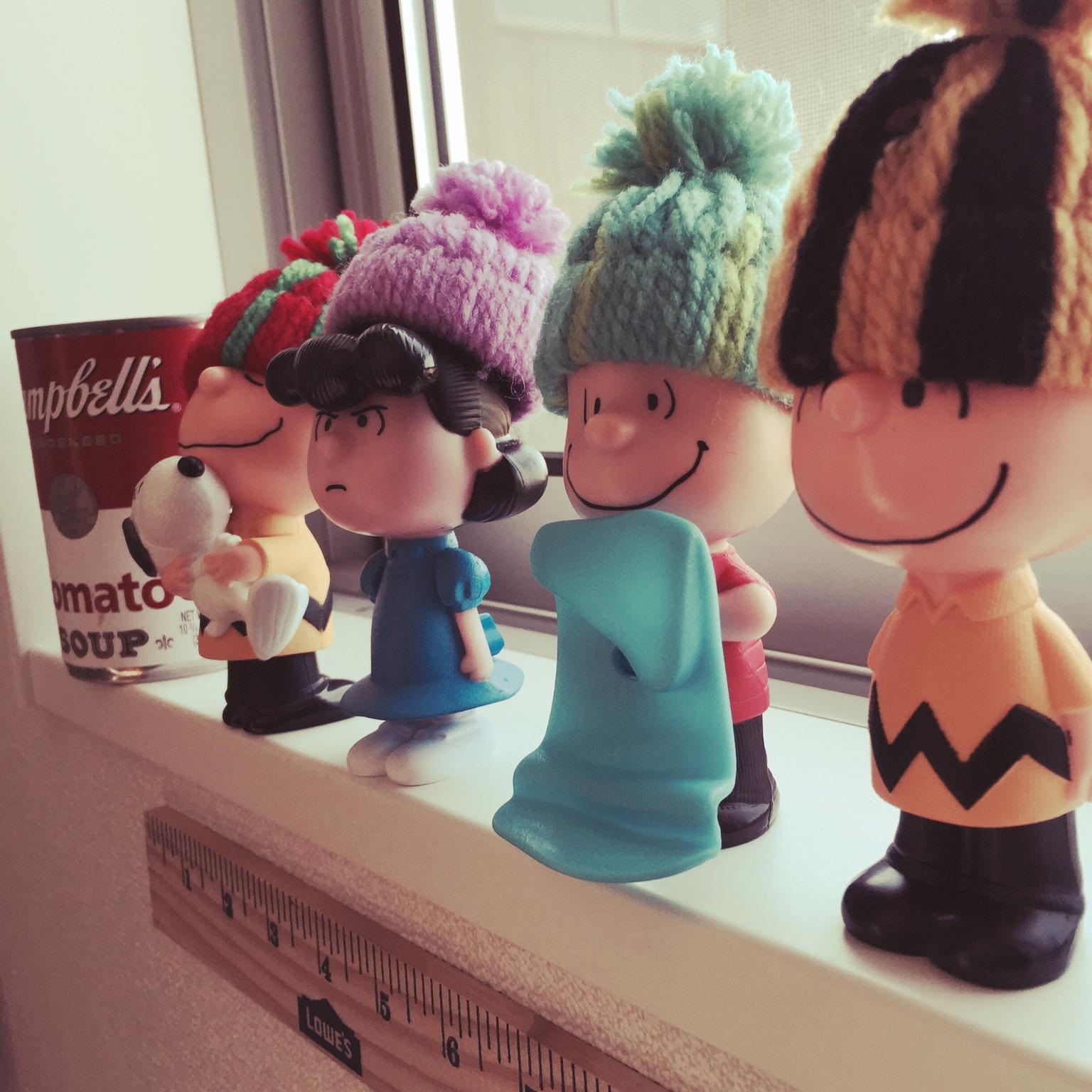 お子さんでも簡単!お人形用☆毛糸のポンポン帽子 by sykさん