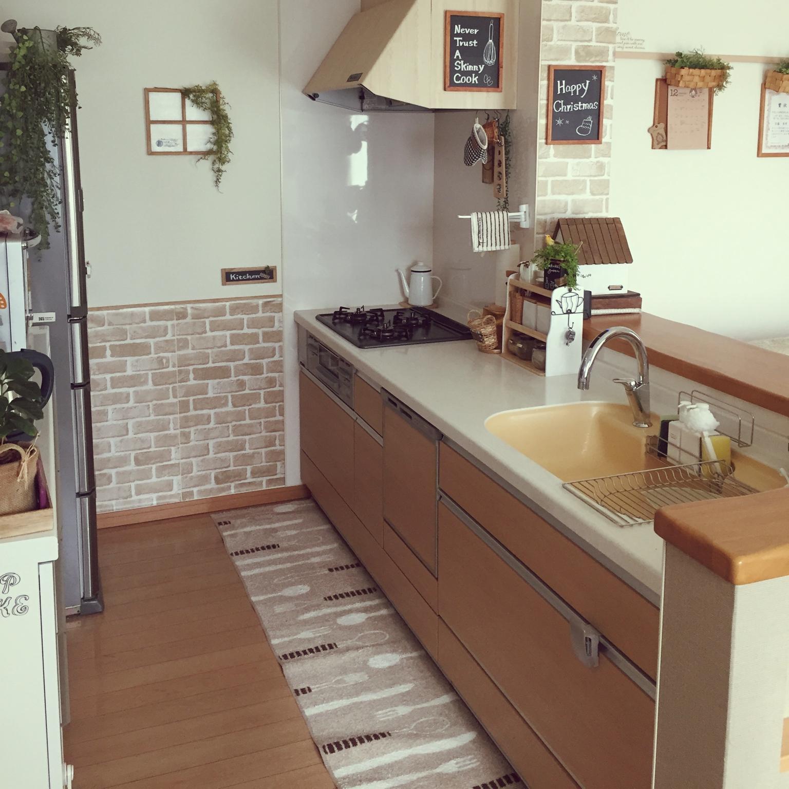お気に入りのキッチン完成♪キッチンのリメイクアイディア実例集 | RoomClip mag | 暮らしとインテリアのwebマガジン