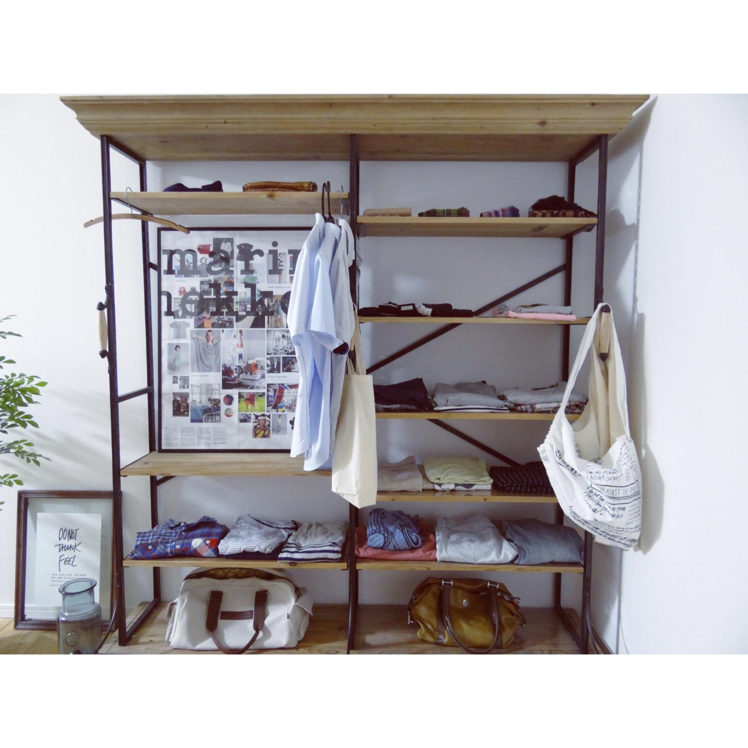衣替えシーズン!すっきり楽ちんな衣類収納の方法11選 | RoomClip mag | 暮らしとインテリアのwebマガジン