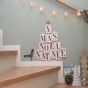 アルファベットのアイテムで作る、大人クリスマス