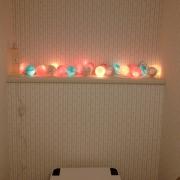 ランプの温かい光に包まれた空間で癒されませんか?