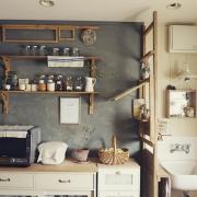 塗り分けがおしゃれ♡話題の壁ペイントでお部屋をカラフルに模様替え