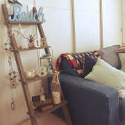 リラックスが気分です♪ 西海岸風、ロンハーマンなお部屋作り