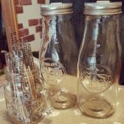 キャンドゥのミルクボトルが可愛くって機能的!