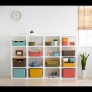 カラフル&かわいい収納ボックスを使ったカラーコーディネート術