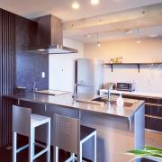 新築もリノベも!キッチン+ステンレスでできる男前キッチン