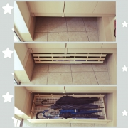 つっぱり棒棚/トイレットペーパー収納/1×4材/つっぱり棒/DIY/salut!…などに関連する他の写真
