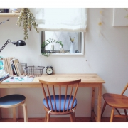 優しい肌触りの癒され木材、無垢材家具のあるお部屋