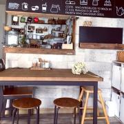 いつまでもいたくなる憧れのカフェ風キッチン実例集