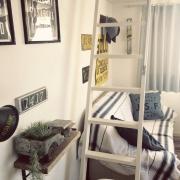 地下チック♡/ワイヤーバスケット/魅せる収納/パイプウォールラック/IKEA…などに関連する他の写真