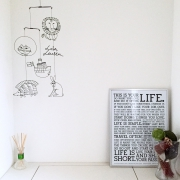 カラートーン別☆おしゃれなポスターが飾ってあるお部屋!