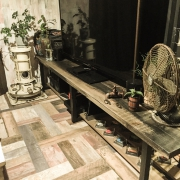 ペルゴラ/ロールストランド/観葉植物/壁付けキッチン/sicis/タイルキッチン…などに関連する他の写真