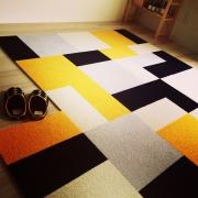 汚れても交換簡単♪タイルカーペットの色の組み合わせ方をご紹介します!
