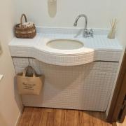 小さなスペース、トイレのイメージチェンジはDIYで♪